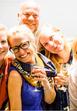 Starry Night, Feestje in de Vooruit